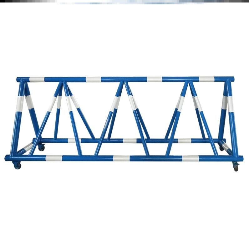 围栏加油站防护栏栏杆设施防撞拒马户外护拦隔离单位校门道路工地