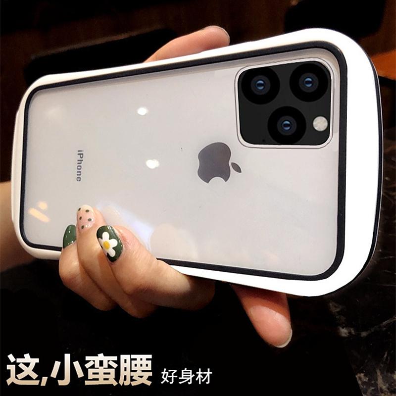 新款小蛮腰苹果11手机壳iphone11pro保护套max椭圆弧形Xs防摔简约图片