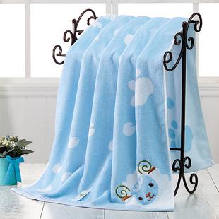 冬 婴儿浴巾纯棉加厚新生儿超柔软吸水小孩儿童加大毛巾被可爱韩版