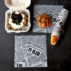 一次性防油纸美式餐厅专用薯条烘培吸油纸油炸面包托盘垫纸隔油纸