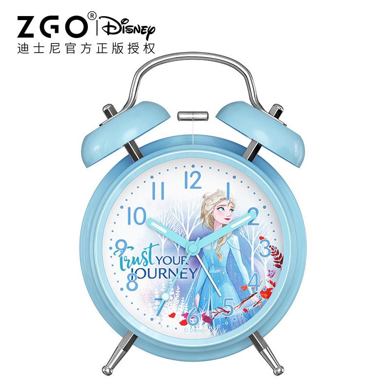 冰雪奇缘迪士尼小闹钟学生用床头性价比好不好