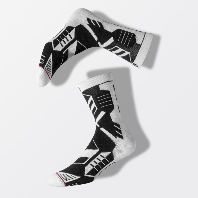uzis专业高筒篮球袜子男高帮精英袜潮流加厚毛巾底长筒训练运动袜