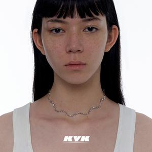 kvk女新款ins潮小众设计感锁骨链