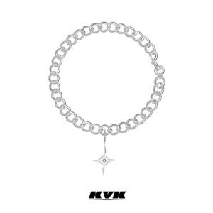 KVK项链女锁骨链2020年新款潮小众设计感网红可拆卸吊坠时尚饰品