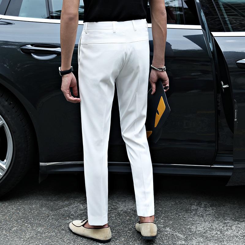 秋季加绒西裤韩版修身小脚男休闲裤怎么样