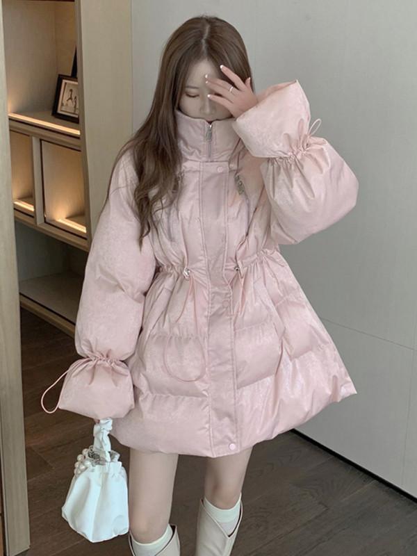 冬季棉袄2020新款爆款加厚羽绒棉服中长款外套ins港风棉衣女装潮