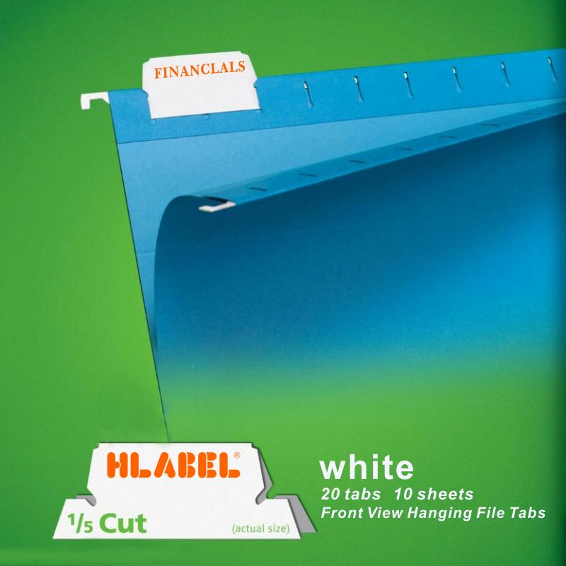 HLABEL米标 索引标签贴白色不干胶可擦写手写分隔页贴纸 手帐素材
