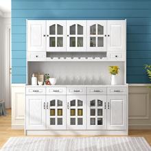 餐厅餐边柜组合酒柜现代简约厨房收纳客厅储物柜多功能碗柜茶水柜
