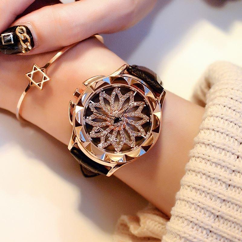 莳来运转韩风表清仓精品时尚潮流真皮手表韩版皮带石英表国产腕表