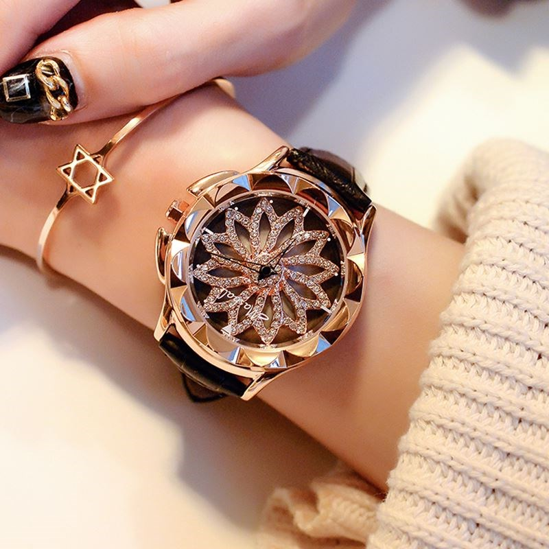 Shilai running Korean style watch clearance boutique fashion trend leather watch Korean belt quartz watch domestic watch