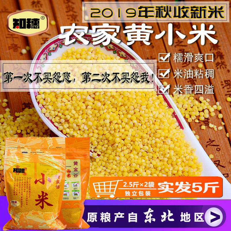 New yellow millet in the 19th year of zhisui