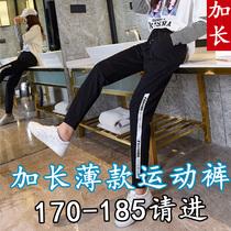 加长版哈伦裤女宽松休闲180女生超长裤高个子气质女装170-175店铺