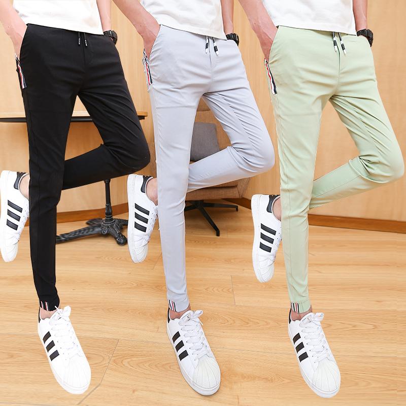 夏季显瘦潮流初中学生网红小脚裤子质量怎么样