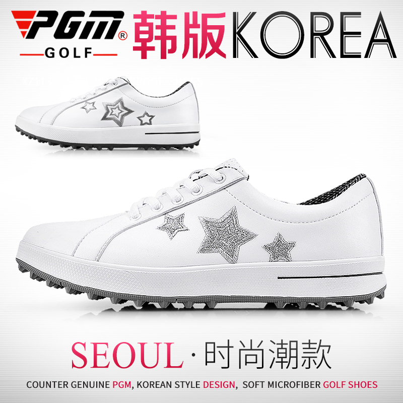 PGM counter genuine golf shoes womens golf sports casual shoes spikeless shoes super fiber waterproof
