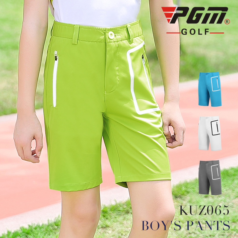 New PGM! Golf clothes childrens golf clothes boys shorts summer sports pants