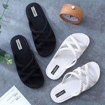 拖鞋女夏韩版新款夏季室内防滑洗澡拖网红ins时尚外穿夏天凉拖鞋