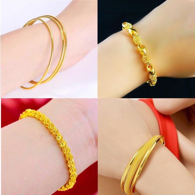 Gift box Vietnamese gold bracelet female gold exquisite bracelet gold plated bracelet bracelet