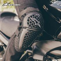 a星alpinestars摩托车护膝护肘骑士护具机车赛车骑行装备透气夏季
