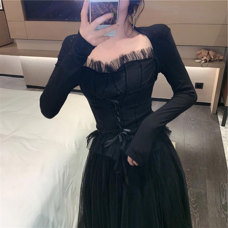 法式气质连衣裙实体店有吗