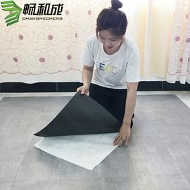 pvc地板自粘地板贴纸地板革加厚耐磨塑胶地板贴家用防水卧室地胶图片