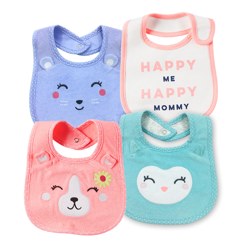Special price Carter baby cotton saliva towel baby bib waterproof supplementary food Bib baby products