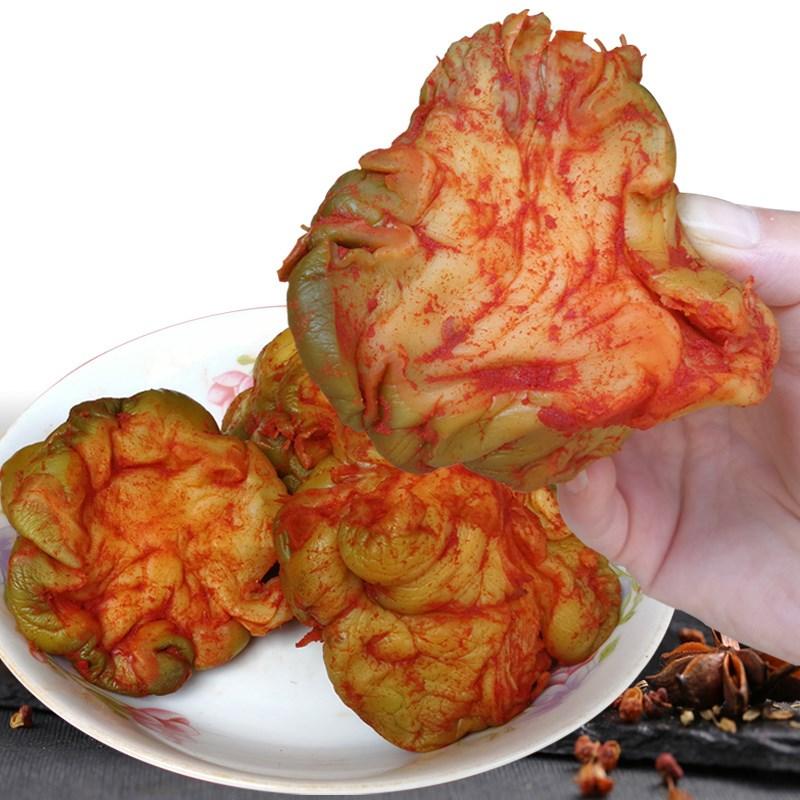沃浓涪陵脱水榨菜传统五香风干榨菜头5斤圆形菜四川重庆特产疙瘩
