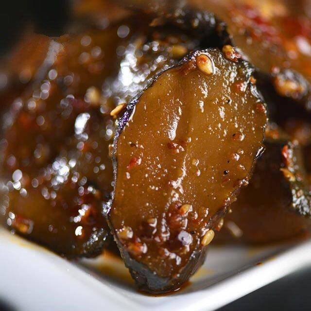 (买二送枸杞)湖北特产洋姜酱菜咸菜下饭菜酸甜红油真空包装