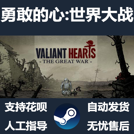 STEAM PC正版 勇敢的心:世界大战 Valiant Hearts The Great War