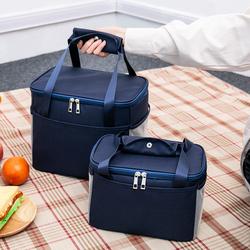 饭盒手提包铝箔加厚保温防水便当袋子午餐上班族妈咪小学生带饭拎