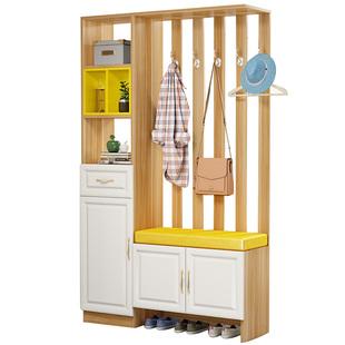 玄關櫃現代簡約進門屏風裝飾鞋櫃一體雙面門廳櫃小户型客廳隔斷櫃