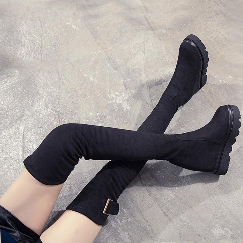 内增高女过膝靴子2021秋新款女鞋