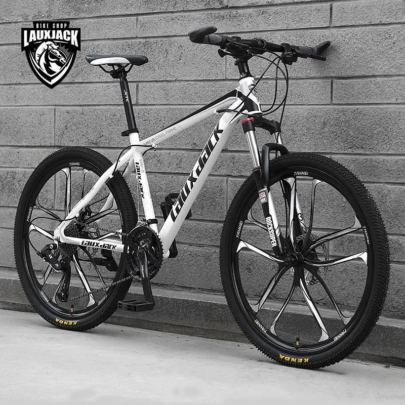 自行车速24寸双碟刹成人山地自行车山地车男女式单车减震公路赛