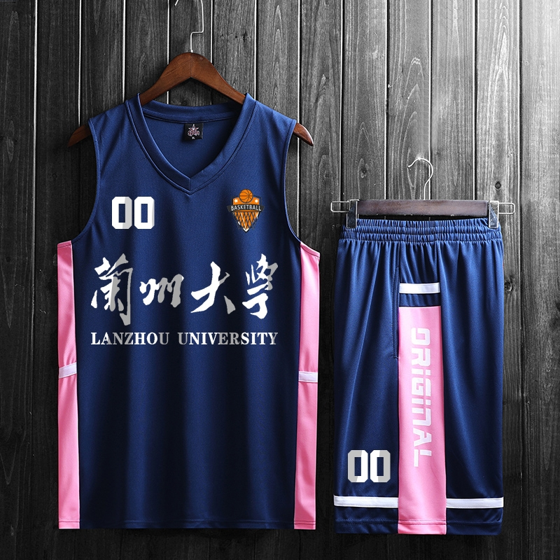 New basketball clothing new mens sportswear vest Shorts Set team competition clothing for summer 2020