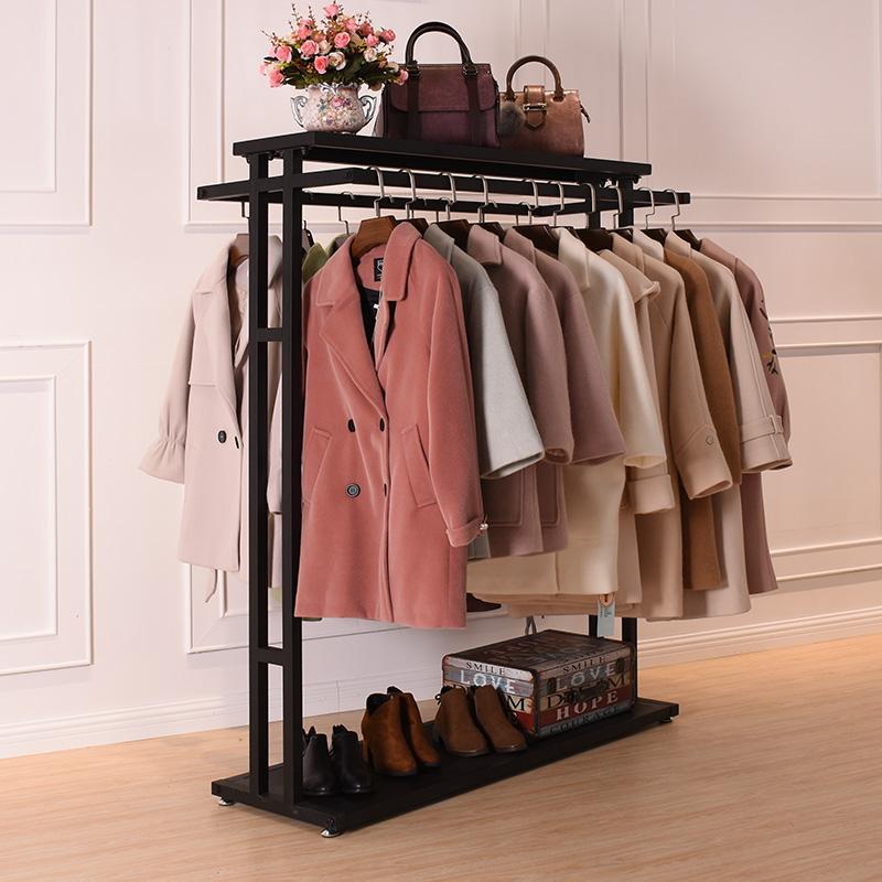 服装店双排双杠衣服中间两根2货架11月26日最新优惠
