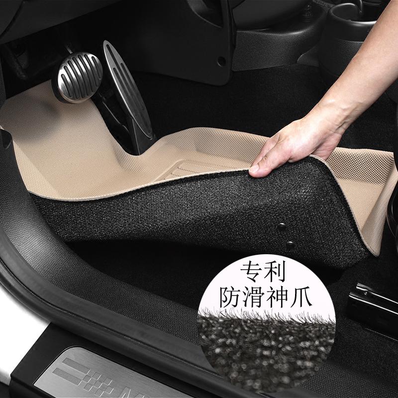 斯巴鲁卡固光面新力狮森林人傲虎 XV专车专用环保无味防水脚垫,可领取30元天猫优惠券