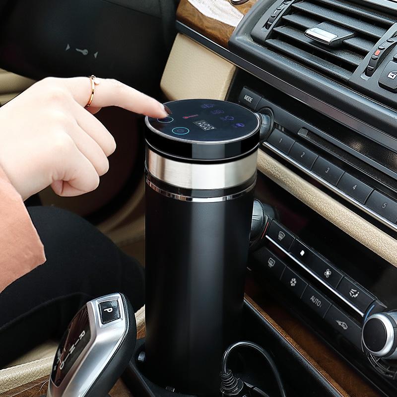 车载加热水杯 车用烧水杯电热杯汽车保温杯热水器烧水壶12V烧开水,可领取30元天猫优惠券