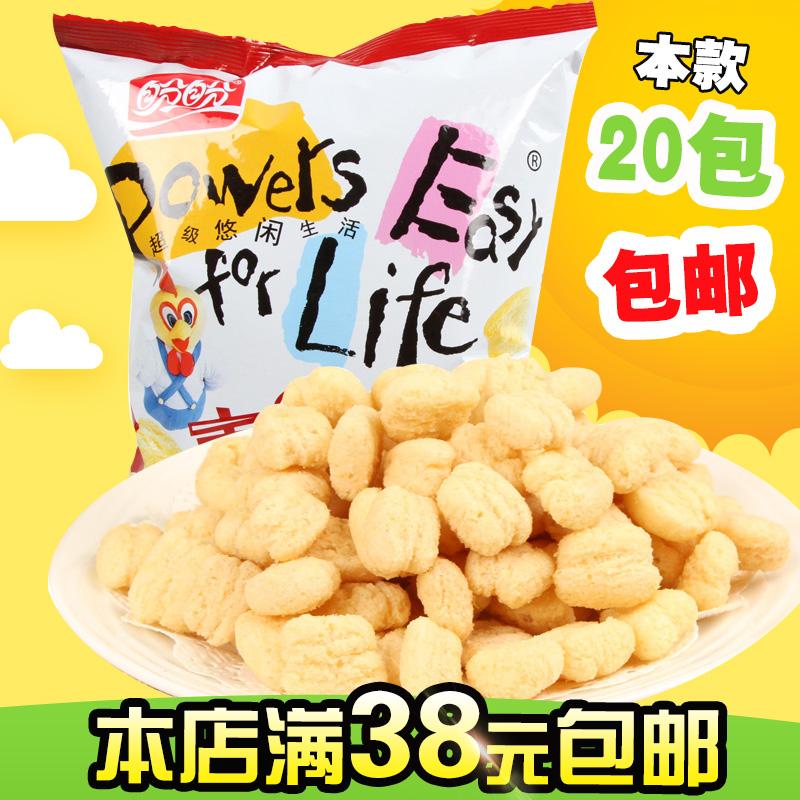 盼盼麦香鸡味块休闲膨化食品吃的零食小吃成人款批发整箱10元以下