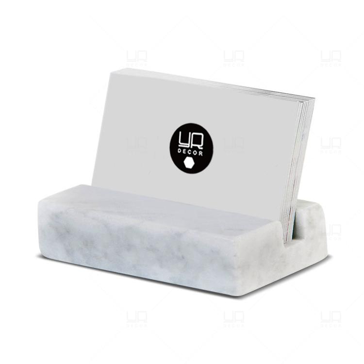 天然大理石ハイエンドのアイデア商品の価格表示板の組み合わせ式商品のブランド台座のサポート北欧名刺