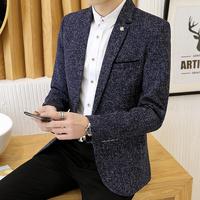 男春秋衣服韩版潮流修身小西装夹克好用吗