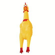 Screaming despair Chicken Screaming toy Chicken Screaming strange barking dog toy bite-resistant pet products Teddy
