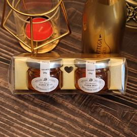 吉时喜礼喜糖盒伴手礼喜蜜小瓶结婚小罐蜂蜜礼品盒礼物