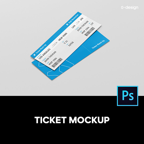 Ticket mockup ticket ticket ticket coupon ticket ticket multi angle prototype display material template