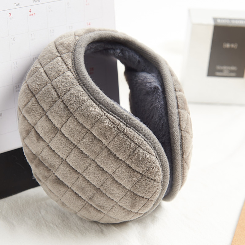 Earmuffs mens ears warm and warm in winter earmuffs foldable ear bags cycling cold proof Earmuffs Ear covers outdoor cold proof