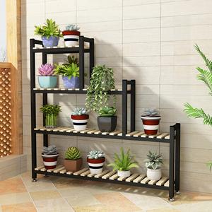 花架花几植物架窗台花架子多层室内特价多肉花架飘窗柜铁艺花盆架