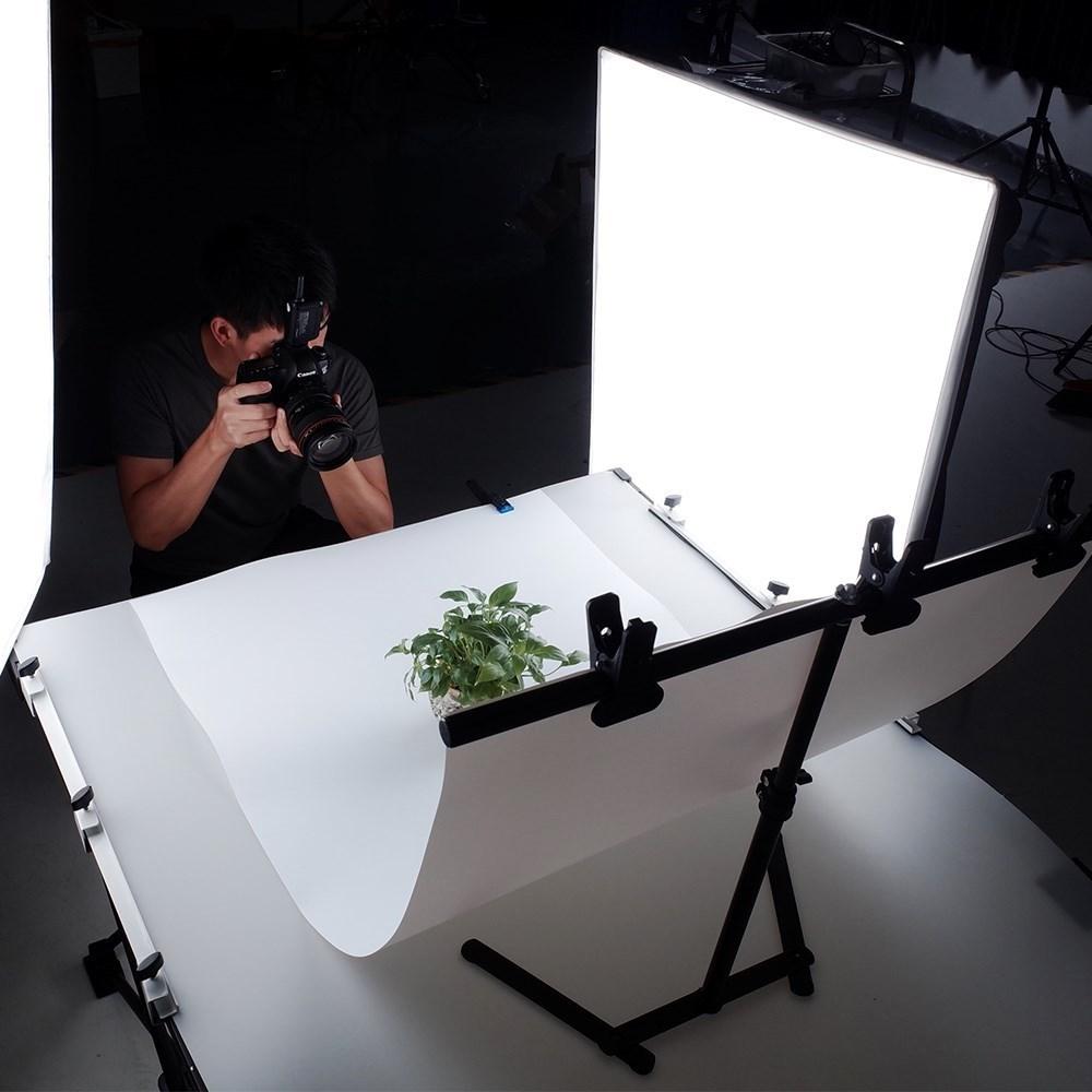 个性白底图拍照拍摄鞋童装装饰墙纸背景服装布纯白板饰品护肤品