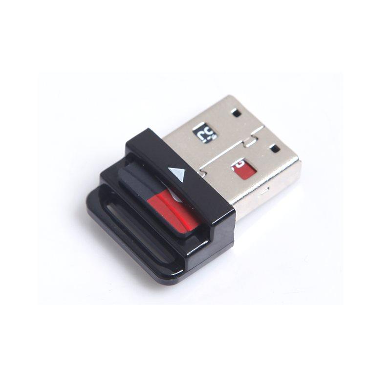 迷你车载Micro内存sd卡读卡器TF千微型车用mini小USB通用汽车音乐