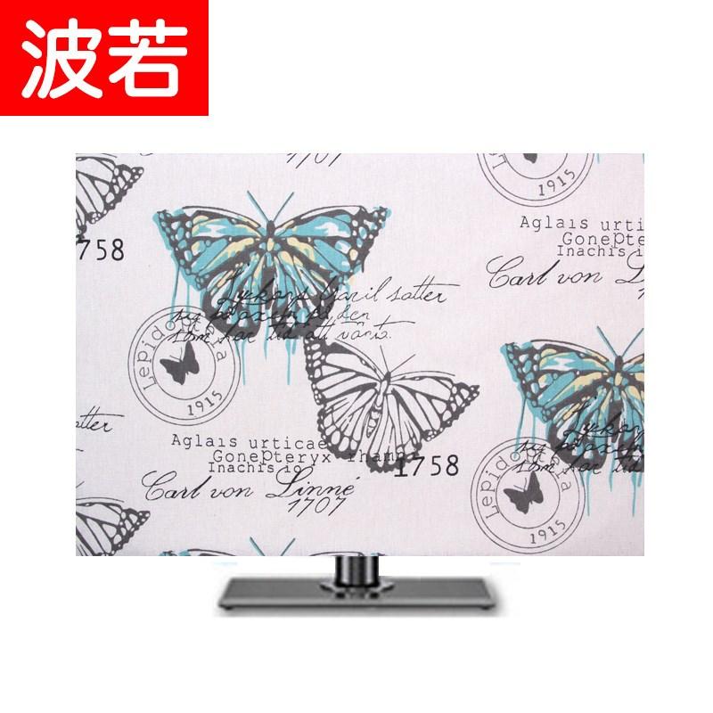 Мода сделанный на заказ подвесной жк телевизор капот LED телевизор покрытия рабочий стол бесплатная доставка пылезащитный чехол