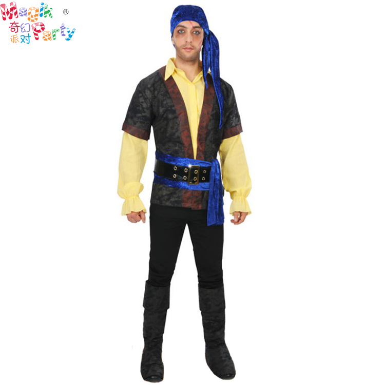 The Pirates of the Caribbean Captain Jacks costume