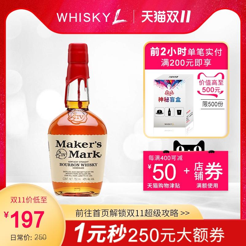 美格波本威士忌Maker's Mark Bourbon Whisky 正品行货进口洋酒