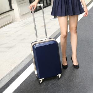 行李箱女拉杆箱20寸22皮箱包24小型轻便小号铝框密码箱子旅行箱男